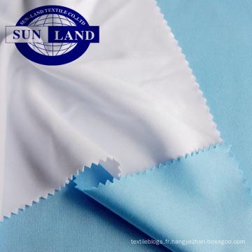Doublure en jersey simple 100% polyester pour vêtements de sport