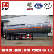 40m³ Insulation Asphalt Tanker Semi Trailer