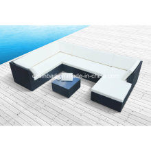 Outdoor Rattan Sofa for Garden / Living Room with Aluminum / SGS (1004)