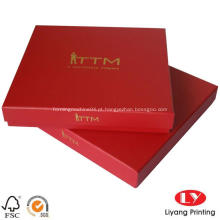 Logo Hot Stamping Scarf Embalagem Caixa