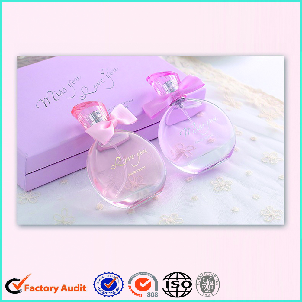 Cardboard Packaging Box For Perfume Bottles