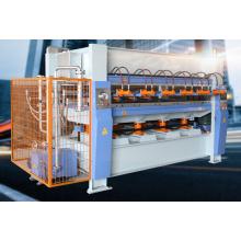 Máquina de unión de la placa de prensa caliente