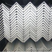 Barra de ángulo de acero con capa de zinc