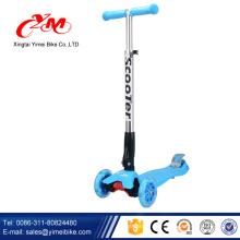2017 новая модель 3 колеса дети скутер/ CE пройденный самокат детский/Оптовая миниая умная дешевые дети скутер