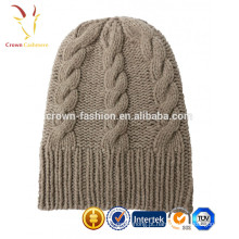 Cabo de Merino lã artesanal chapéu Beanie Ourtdoor personalizado