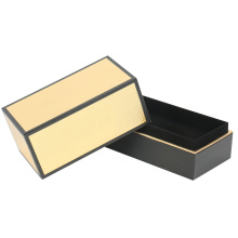 Caixa rígida de embalagem de papel para vela de montagem em ouro