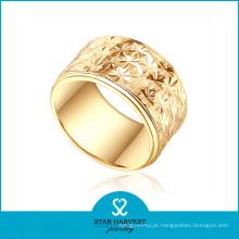 Ouro de Dubai banhado a ouro anel para o casamento (SH-0438R)