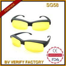 Sg58 Sicherheit Sonnenbrille mit gelben Linse