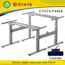Lagos Height adjustable electric desk stand made in China for 2 people