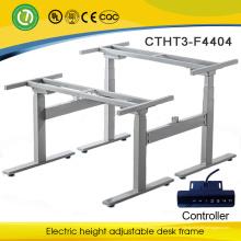 Лагос подставка с регулируемой высотой электрический рабочий стол сделано в Китае для 2 человек