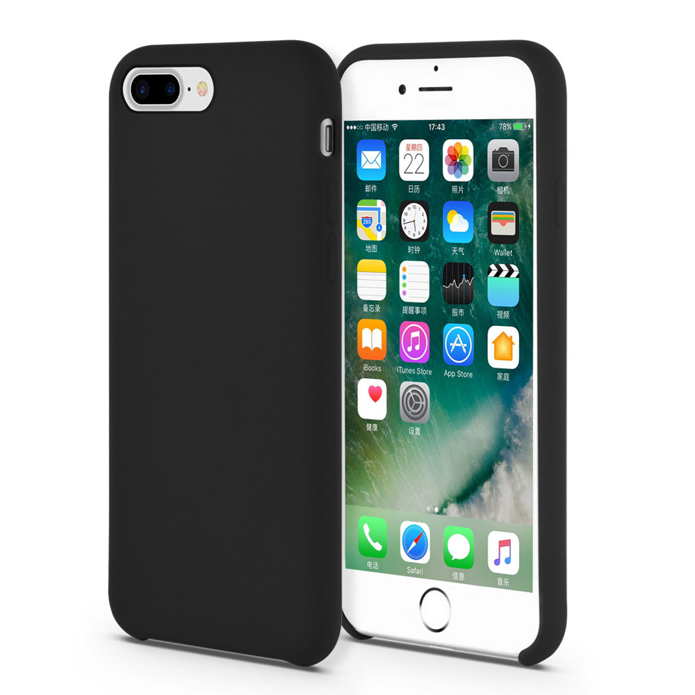 Liquid Silicone Protective Case for iPhone