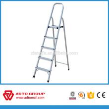 escalera del hogar 5step, escalera de mano plegable, escalera de aluminio