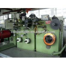 High voltage foil winding machine for making transformer