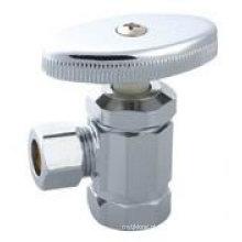 J7045 válvula de ângulo de latão chuveiro cabeça válvula de latão