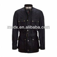 black Winter new Simple style man jacket with belt