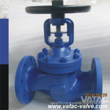 Handwheel Operated Ss304/Ss316 Bolted Bonnet Bellow Seal Globe Valve