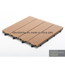 Azulejo ambiental de WPC DIY Decking