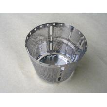 Filtro de máquina de café con orificio de producto fino de alta calidad
