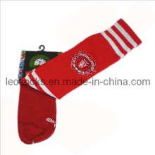 2014 New Men Strip Soccer Cotton Socks (DL-SC-07)