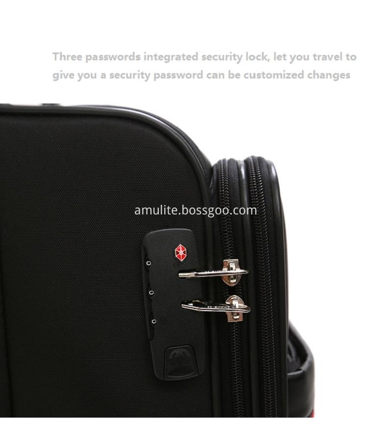 Safe lock trolley bag