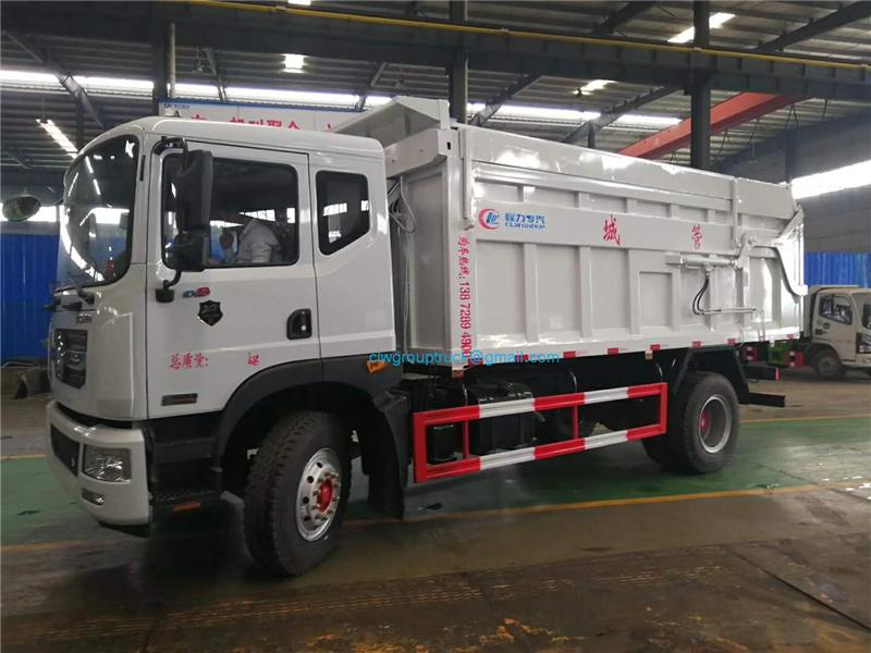 Docking Garbage Truck 1