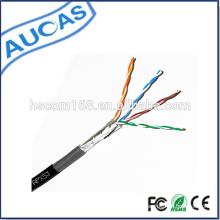 Fábrica de china preço baixo novo design venda quente FTP CAT5e cabo de rede cabo lan 1000ft 305m a granel