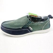 Hot Sale Fashion Men′s Shoes Slip-on Driving Shoes Canvas Shoes