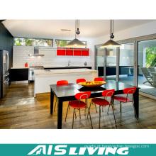 Projeto de madeira modular da mobília do armário de cozinha (AIS-K366)