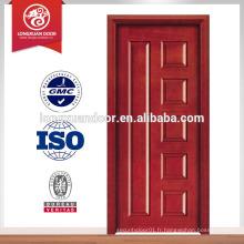 Conception de porte principale en bois unique de la Chine en 2015