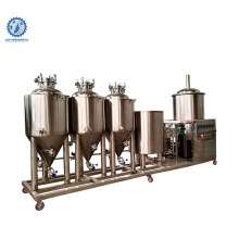 electric small all in one homebrewing beer brewery equipment mini brewing system 50l