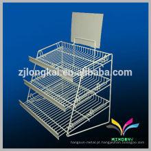 Hot sale new sytle personalizado barato metal rack lavanderia cesta