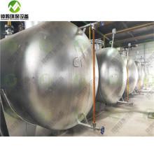 Uso de residuos de aceite usado en motores diesel