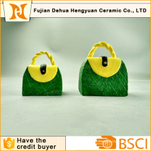 Handbag Shape Piggy Bank for Desktop Gift