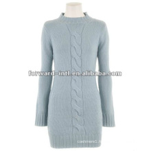 women's cashmere cable knitted pullover