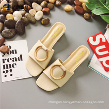 Ladies cool sandals beach party shopping Italian shoes