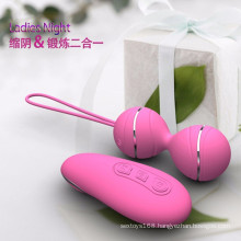 Wireless Vibrating Adult Toy Remote Control Sex Massager