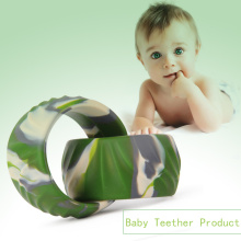 Eco-Friendly Chewable FDA Approved Silicone Bangle Bracelet