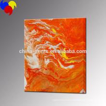 Абстрактная картина маслом холстины / искусство печати холста нестандартного холста / домашний декор стены Изображение