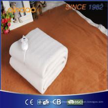Calor rápido macio acima do cobertor elétrico com um controlador