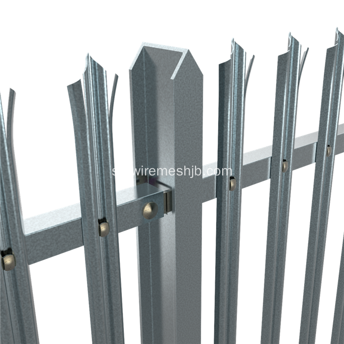 W Avdelning Palisade Security Fence