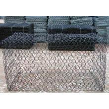 Gabion Box Korb / Gabion Mesh / PVC beschichtet Galfan Gabion