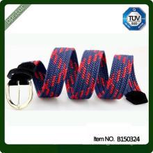 Ceinture en tricot fabriqué par ceinture en coton côtelé en cire de coton côtelé