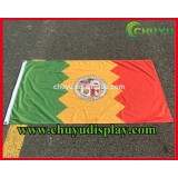 Outdoor Polyester Flag Print Trade Show Flags Promotional Banners