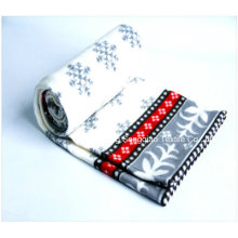 100% Polyester Polar Fleece Blankets with Paper Tapes