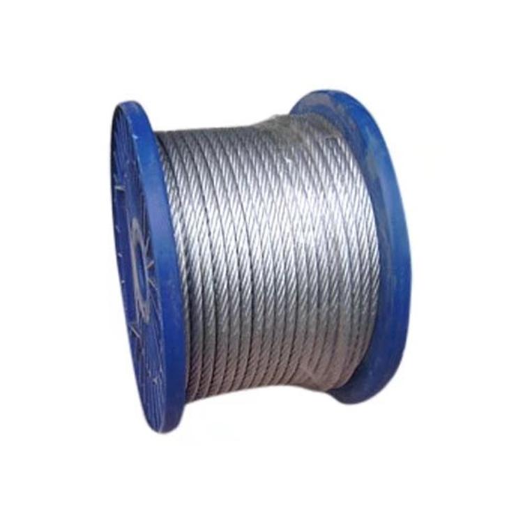 galvanize steel wire rope