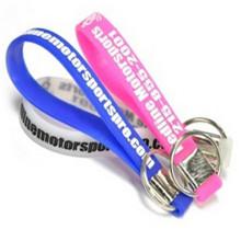 Eco-Friendly Elastomer Silicone Bracelet Key Holder