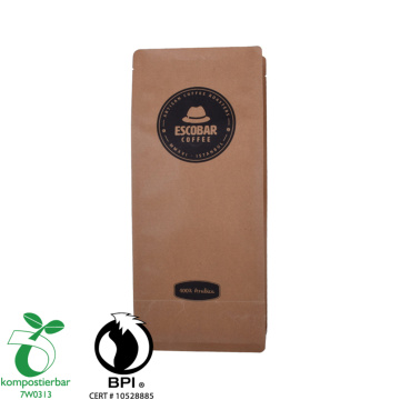 Makanan Gred Square Bottom Biodegradable Poop Bag Manufactory