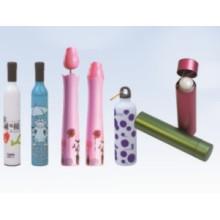 Автоматический открытый красочный печати бутылка зонтик (HSZ-14)