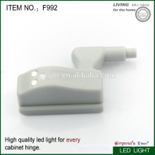 furniture cabinet hinge with LED light device