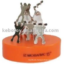 Teamwork-Magnetik-Skulpturen
